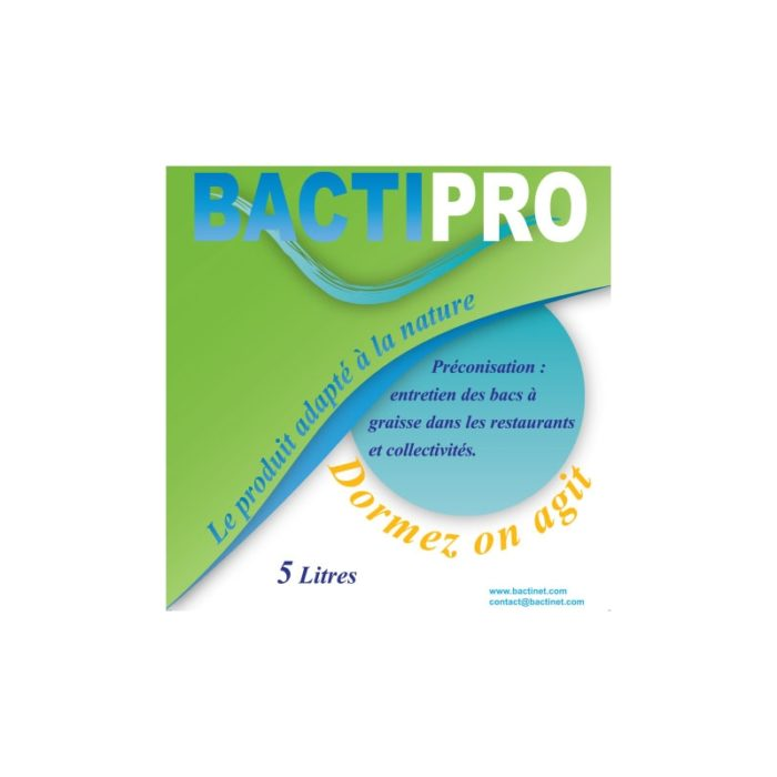 Bactinet Bacti Collectivites 5l