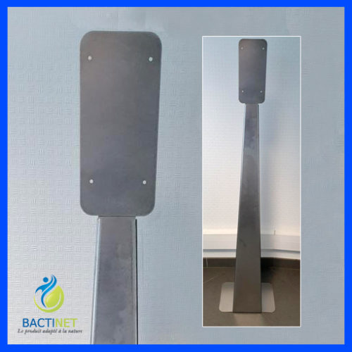 Bactinet Support Inox Pied Accueil Boutique Bactinet 754