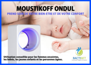 Bactinet Anti Moustique Bactinet Moustikoff Ondul 3 753