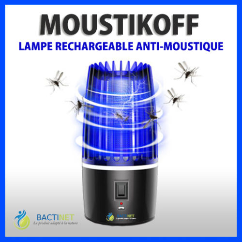 Bactinet Lampe Anti Moustique Bleue Bactinet Moustikoff 1 747